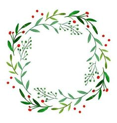 Wonderful Pics Spring Wreath illustration Suggestions For anyone who is straight into creating DIY early spring wreaths, you've probably challenged the Watercolor Christmas Cards, Watercolor Cards, Watercolor Flowers, Drawing Flowers, Watercolor Wedding, Wedding Drawing, Floral Wreath Watercolor, Art Floral, Watercolor Illustration