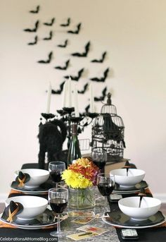 """Halloween party theme - """"witches night in"""""""