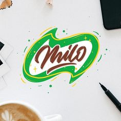 Milo. Its my fav chocolate drinks until now. Its my entry for goodtype challenge this week. Re-imagine your fav brands with your own style/work. #goodtypetuesday #goodtype