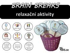 Aby se dět... Brain Breaks, Word Search, Words, Brain Training, Horse