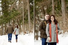 Winter Engagement - Beck & Molly