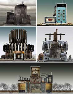 steampunk-miniature-cities