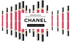 Chanel spring email marketing GIF