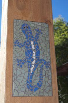 Lizard Mosaic