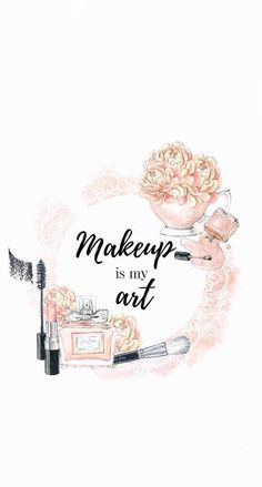 makeup wallpaper 70 Ideas fashion ilustration art drawing paintings for 2019 Makeup Wallpapers, Cute Wallpapers, Wallpaper Backgrounds, Iphone Wallpaper, Makeup Backgrounds, Wallpaper Art, Cadre Diy, Makeup Illustration, Photo Deco