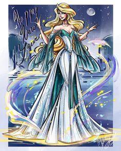 Disney Dream, Cute Disney, Disney Style, Disney Magic, Non Disney Princesses, Disney Princess Art, Disney Fan Art, Princess Zelda, Disney Drawings