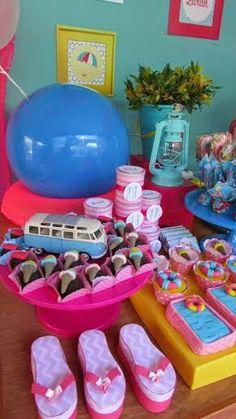 Tema: Pool Party! | Louca por Festas