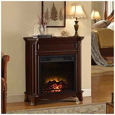 Lovely Santa Might Not Find My Chimney, But He Will Find It Warm Thanks To Petite  Foyer Electric Fireplace At #BigLots.