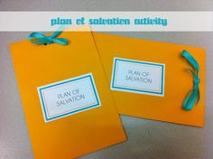 Young Women Plan of Salvation Activity
