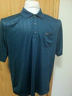 Shark Greg Norman Tasso Elbay Play Dry Shirt XL New w/o Tags Golf Polo Casual