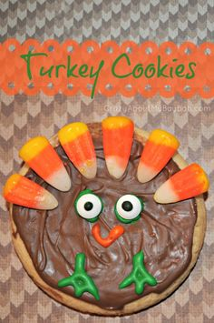 Iced Turkey Sugar Cookies 680x1024 Iced Turkey Cookies | Thanksgiving Treats for Kids