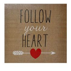 Found it at Wayfair - Follow Your Heart Textual Art on Canvas