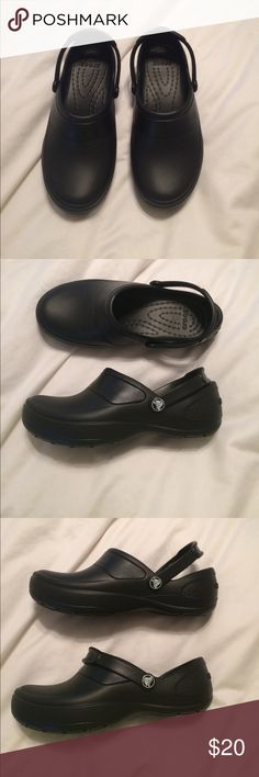 Black Crocs Black crocs! Brand new, never been worn, ripped tags off, but new CROCS Shoes Mules & Clogs