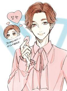 #seventeen #fanart #jeonghan