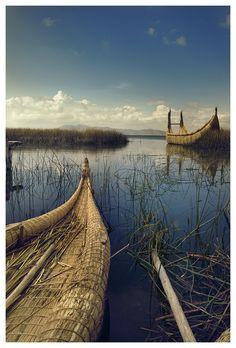 Ancient Egyptian Boat by Artsalah