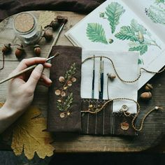 Suddenly realized that it's already half of February! Can't believe, this winter is passing too fast. Sun is warm (despite the frost,… Embroidery Art, Embroidery Stitches, Embroidery Patterns, Textile Fiber Art, Knitting Blogs, Needle And Thread, Handicraft, Needlework, Sewing Projects