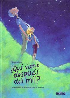«¿Qué viene después del mil?», le pregunta la pequeña Lisa a su amigo Otto, con el cual está aprendiendo a contar las estrellas. Lisa ya sabe contar hasta dieciséis, pero en el cielo hay muchas más estrellas, por lo menos mil, le ha dicho el viejo Otto. Con él pasa ratos muy divertidos, pero un día Otto se pone enfermo y muere al cabo de un tiempo. A Lisa le cuesta acostumbrarse a su ausencia. Anette Bley: ¿Qué viene después de mil? (Takatuka)