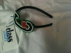 super cute football headband...customize it for your team