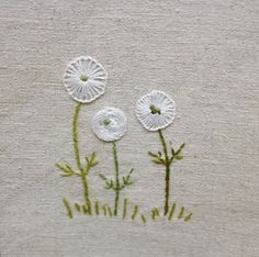 Check out this remarkable photo - what an ingenious innovation Hand Embroidery Projects, Hand Embroidery Stitches, Crewel Embroidery, Hand Embroidery Designs, Embroidery Techniques, Ribbon Embroidery, Floral Embroidery, Embroidery Flowers Pattern, Simple Embroidery