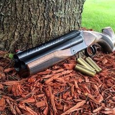 Triple barrel sawn-off Shotgun