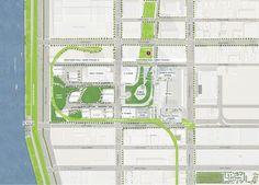Hudson Yards, Site Plan