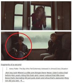 Hahahahahahahahahah but ya lets face it everyone wanted to throw up and un-see this part!!!!! After all it's suppose to be Ron and Hermione!!!!!