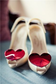 I'm sure that my knackered foot could last the day in these little beauties!    Foxy Vivienne Westwood shoes for the big day
