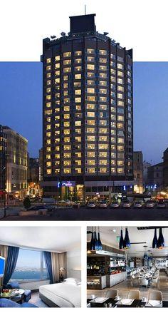 Istanbul Beyoğlu'nda bulunan turistler için seçilebilecek en güzel taksim otelleri arasında yer alan The Marmara Taksim Oteli