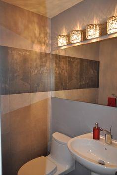 Thornhill Residence - contemporary - powder room - toronto - Idevoks Design