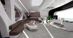 Finalistas X Premios PORCELANOSA Grupo: Future ARQ, un work space futurista