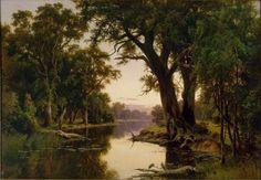Henry James Johnstone A billabong of the Goulburn Victoria