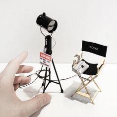 Haute couture miniatures by Phillip Nuveen.   Etsy Shop.