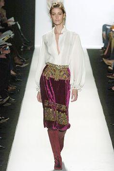 Oscar de la Renta Fall 2005 Ready-to-Wear Fashion Show - Bianca Klamt