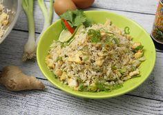 (3) Tojásos sült rizs | Bérczi Róbert receptje - Cookpad receptek Wok, Fried Rice, Potato Salad, Grains, Potatoes, Chinese, Ethnic Recipes, Friends, Videos