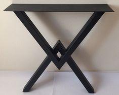 28 Metal Table Legs Steel Base Width 24 by MetalFurnitureParts
