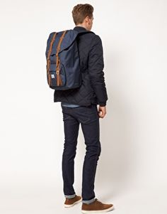 Herschel Supply Little America Backpack  #HerschelSupply #ASOS