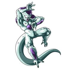 Frieza render 2 [Bucchigiri Match] by on DeviantArt Dragon Ball Gt, Dragon Ball Image, Dragon Age, Lord Frieza, Manga Poses, Akira, Dbz Characters, Z Arts, Pokemon