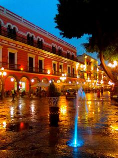 Zocalo de Puebla, Mexico