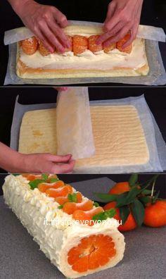 Vegan Dessert Recipes, Easy Desserts, Cake Recipes, Is Almond Milk Healthy, Vegan Cake, Fondant Cakes, Crepes, No Bake Cake, Food And Drink