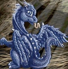 Free Stuff: CROSS STITCH DRAGON SAPHIRA - Listia.com Auctions for Free Stuff