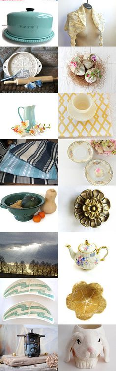 Transition To Spring by Nancy S. on Etsy--Pinned with TreasuryPin.com