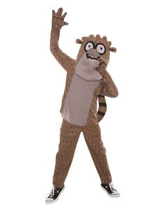 Regular Show Rigby Boys Costume from Spirit Halloween on Catalog Spree, my personal digital mall.