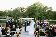 Wedding at the boat house