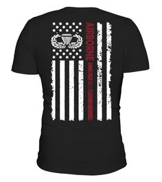 AIRBORNE FLAG SHIRT  #gift #idea #shirt #image #funny #job #new #best #top #hot #military