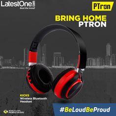 10e6a295830 PTron Bluetooth Headsets - Upto 70% Off on Wireless Headphones