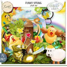 Funny spring kit de Xuxper designs