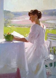 Lecture et art: Dennis Perrin Reading Art, Woman Reading, I Love Reading, Love Book, Reading Books, Woman Painting, Figure Painting, Academic Drawing, Books To Read For Women