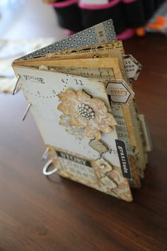 Vintage Finds Mini Album by Alissa C
