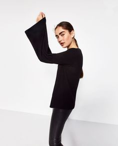 SOFT TOUCH SWEATER-View all-KNITWEAR-WOMAN | ZARA United States