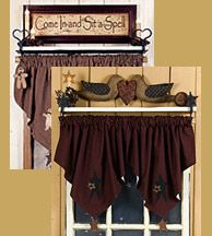Country Curtains Valances Curtain Rods Homespun Curtains Country